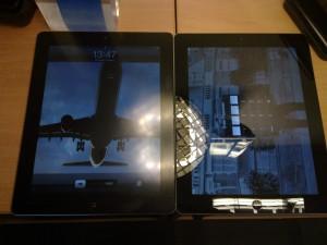 2 iPads side by side